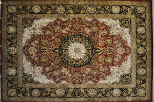 hand knotted rug category
