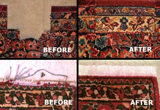 oriental rug repair raleigh